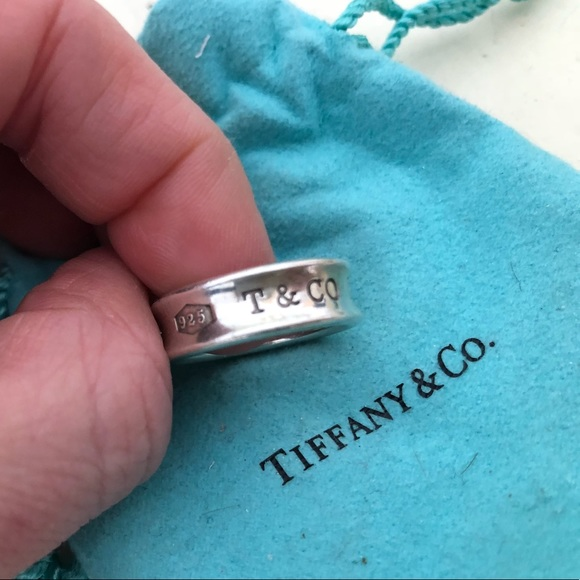 880efceef Tiffany & Co. Ring size 8 SS 925 1837 AUTH T&Co. M_5ac266703afbbd65c381d88c